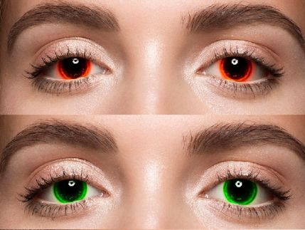 Pro Eyes Enhancement & Color Change – action to improve the color