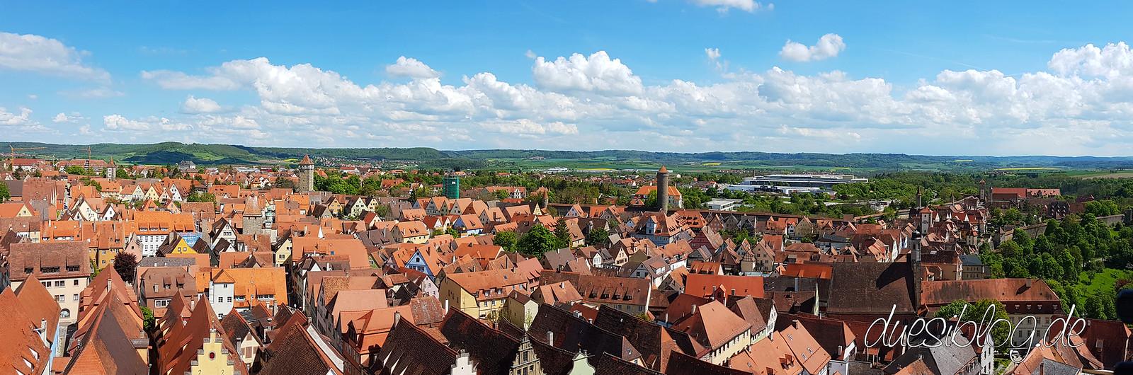 Rothenburg ob der Tauber von oben duesiblog 04