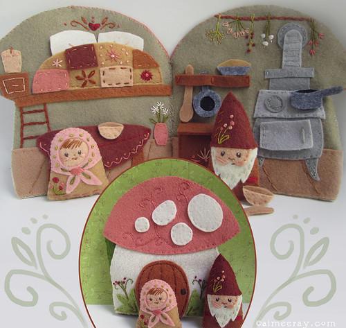 cozy mushroom cottage