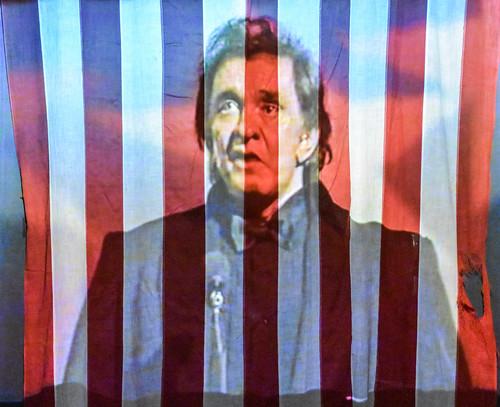 Exhibit in the Johnny Cash Museum, Nashville
