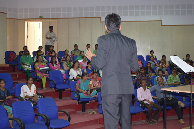 Interview skill seminar in Bangalore University 08th May 2017