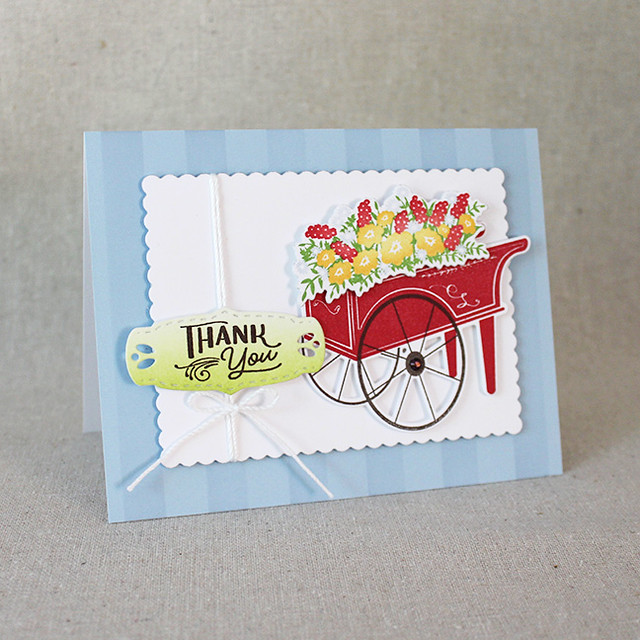 Summer Market Thank You Card