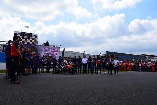 Homenaje a Nicky Hayden, World Superbike Championship, Donington Park 2017