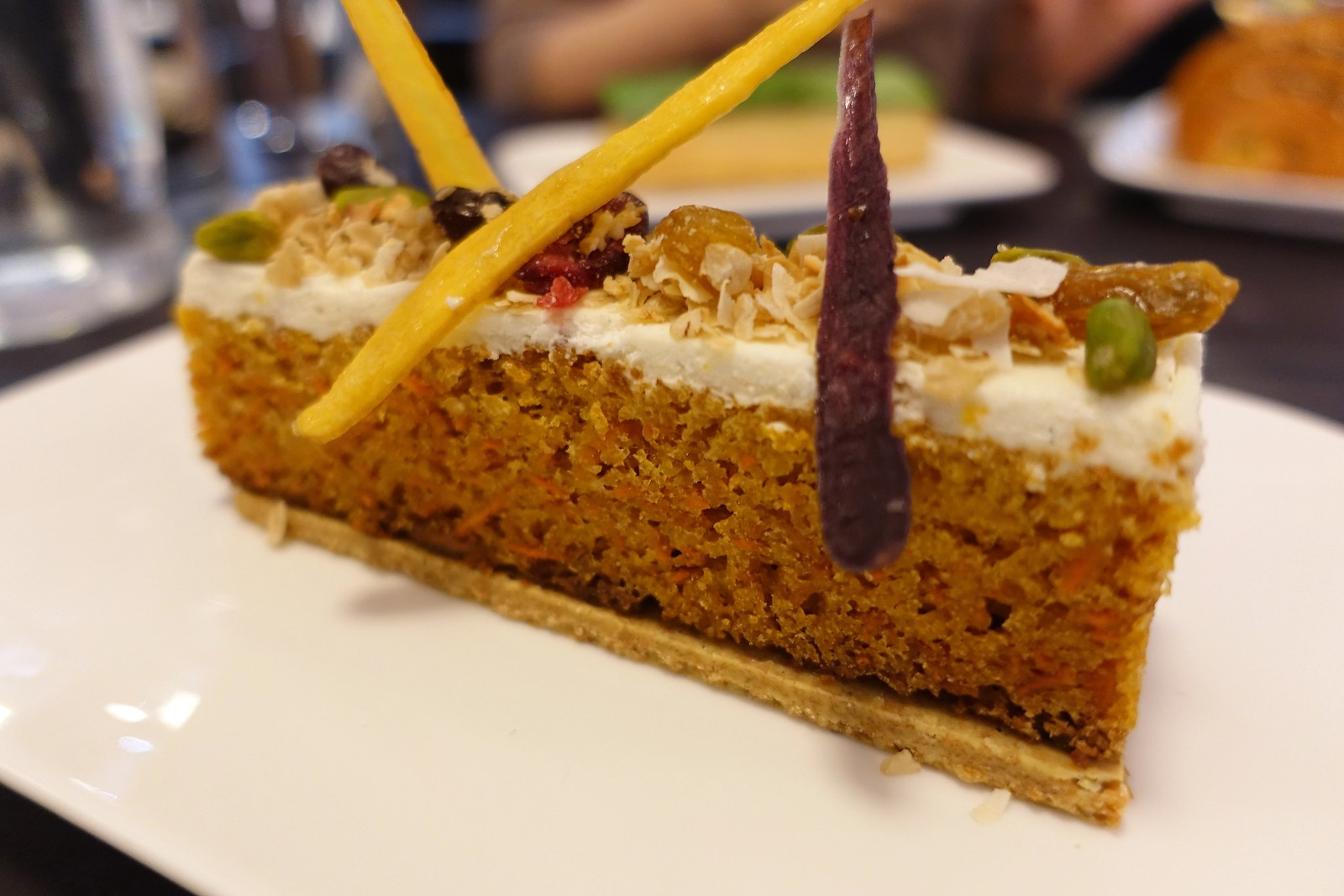 Carrot Cake | Patisserie Chanson | W 23rd St | Flatiron | Manhattan | NYC