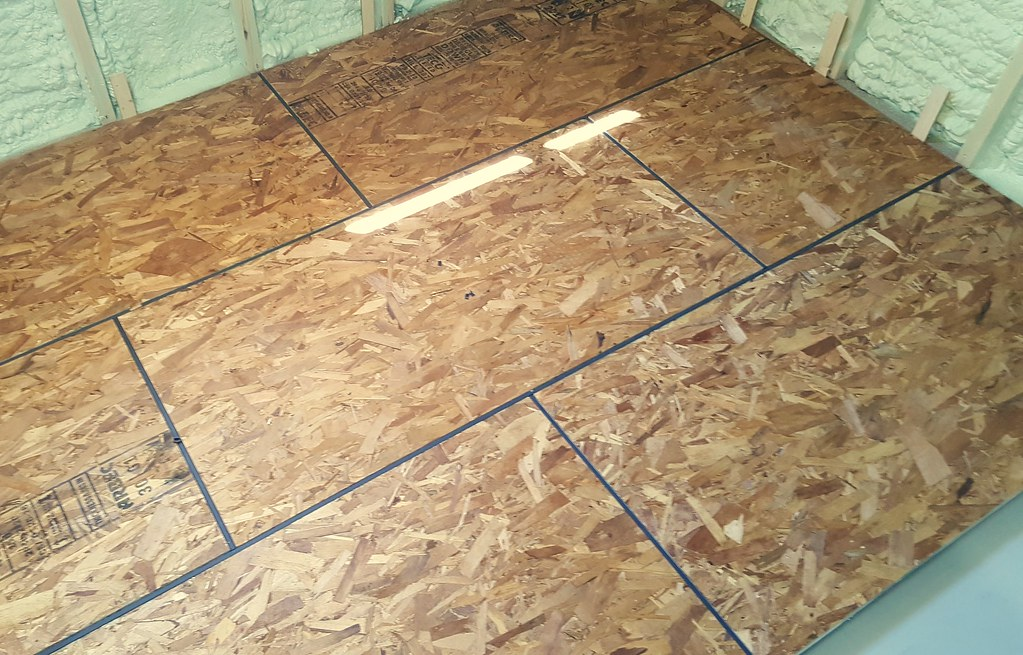 amdry subfloor basement renovation
