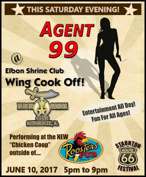 Agent 99 6-10-17