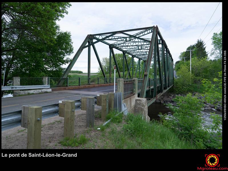 Le pont de Saint-Léon-le-Grand