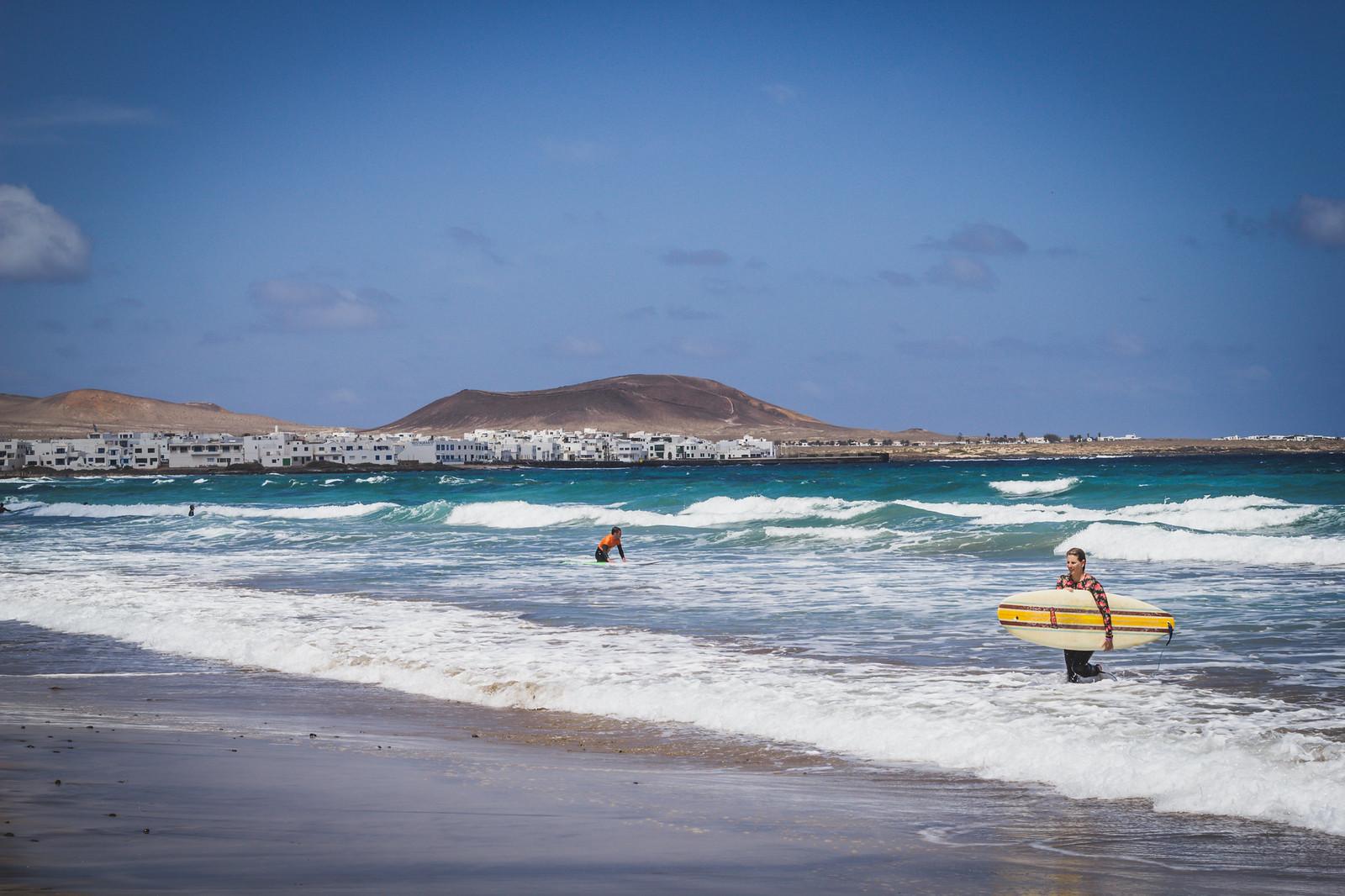 Lanzarote, Playa de Famara