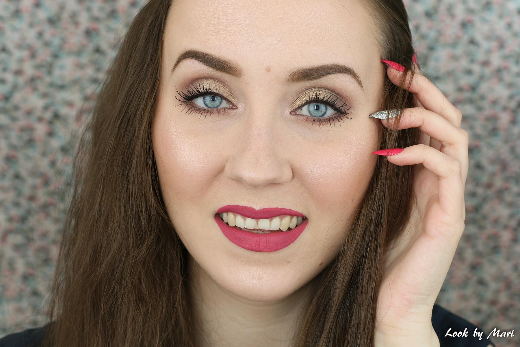 2 valmistujais meikki kulta ruskea ideat tutoriaali inspo inspiraatio silmämeikki blogi