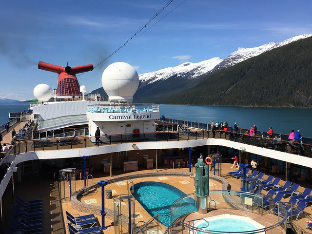 Carnival Legend — Alaska, May 2017