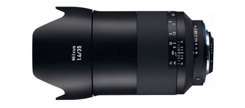 Zeiss lance officiellement sa nouvelle optique : Le Milvus 35mm f/1.4 ZE