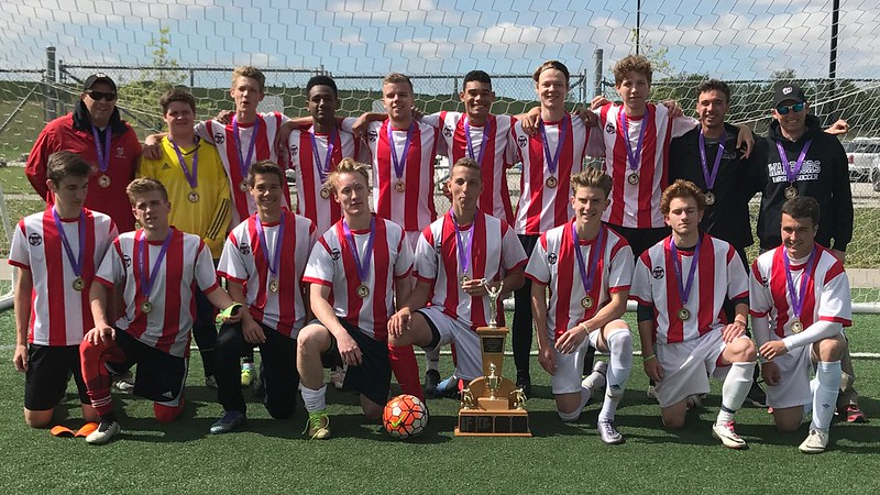 Boys Soccer Champions: Waterdown Warriors