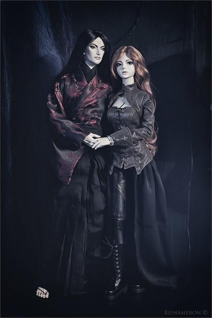Selena and Hiroyuki