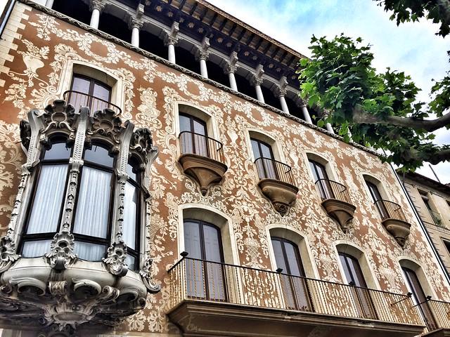 Casa Solà Morales de Olot (La Garrotxa, Girona)