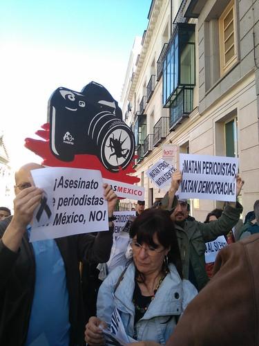 Manifestacion contra asesinato de periodistas2