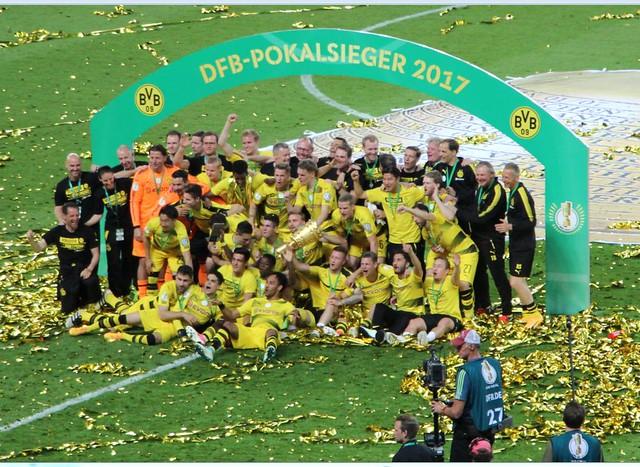 Impressionen vom DFB-Pokal Finale der Saison 2016/17