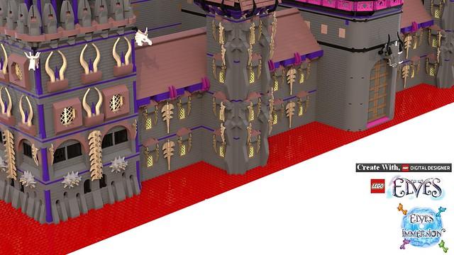 [MOC][LDD]Chateau de Ragana 34916008100_db4a8c889e_z