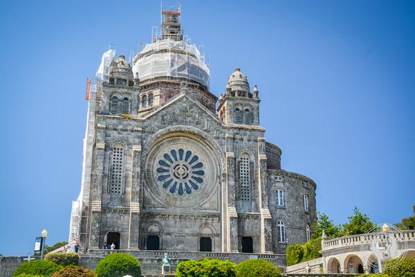 Basilica in Santa Lucia Portugal
