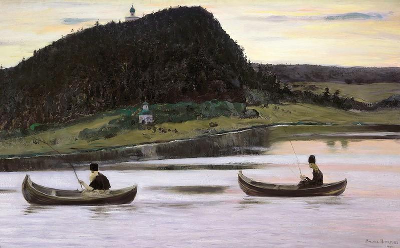 Mikhail Vasilyevich Nesterov - Silence (1903)