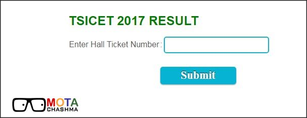TSICET Results 2017