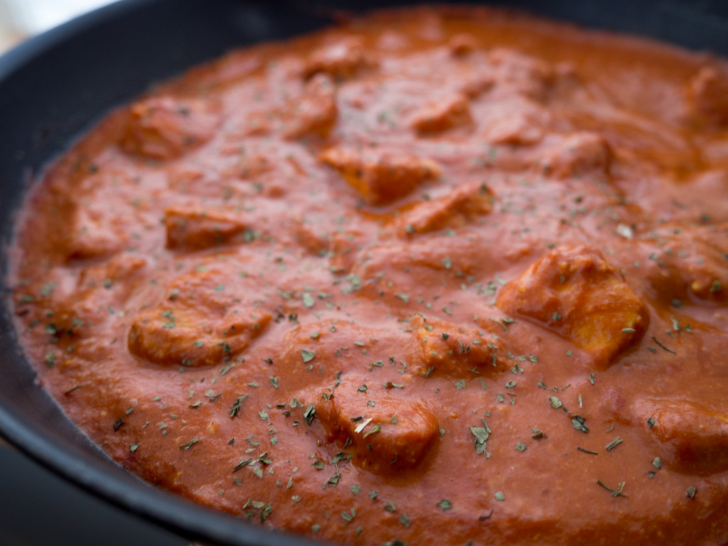 Recipe for Homemade Butter Chicken