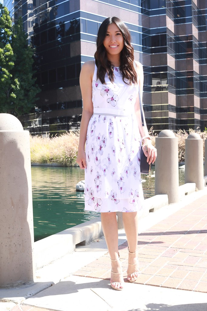 daniel wellington,fashion blogger,lovefashionlivelife,joann doan,style blogger,stylist,what i wore,my style,fashion diaries,outfit,banana republic,itsbanana,sponsored,ad,summer,summer style,simply sophisticated summer,dress,pleated dress