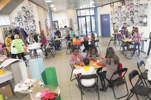 Fieris Féeries - Préparation avec les enfants des ateliers du mercredi