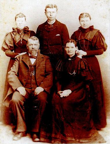 Charles T Casbon Mary Elizabeth Marrell Casbon Sin