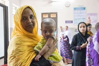 Women at health center | by World Bank Photo Collection