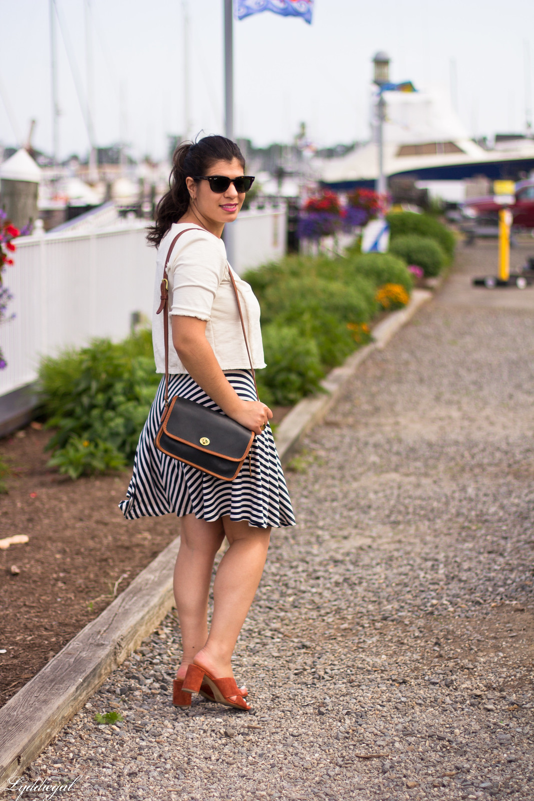 white crop top, striped skirt, madewell mule sandals-3.jpg