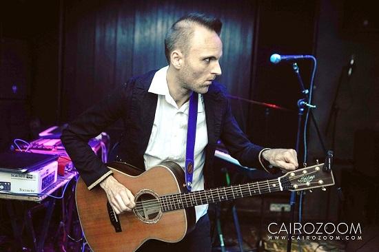 Baz performing live at Cairo Jazz Club, Giza (Egypt) (photo by Fady W. Hanna)