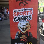 WolfPack sports camps sign