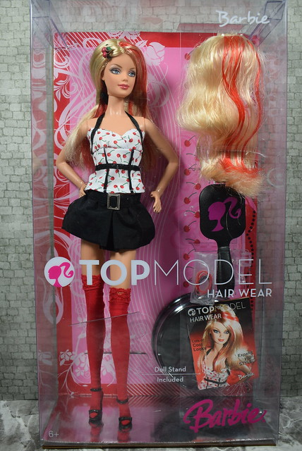 2007 Barbie Top Model Hair Wear Barbie M5794 (5)