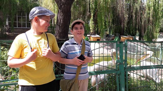 ЗОШ 25 Ми в зоопарку