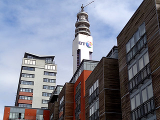 Worcester and Birmingham Canal 29 - BT Tower.JPG | by worldtravelimages.net