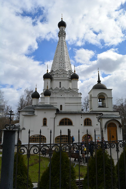 Hram Pokrova Presvjatoj Bogorodicy v Medvedkove