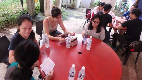Sharing Chek Jawa and Ubin with Youth Corps Singapore