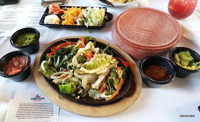 Lone Star Texas Grill Veggie Fiesta Fajitas