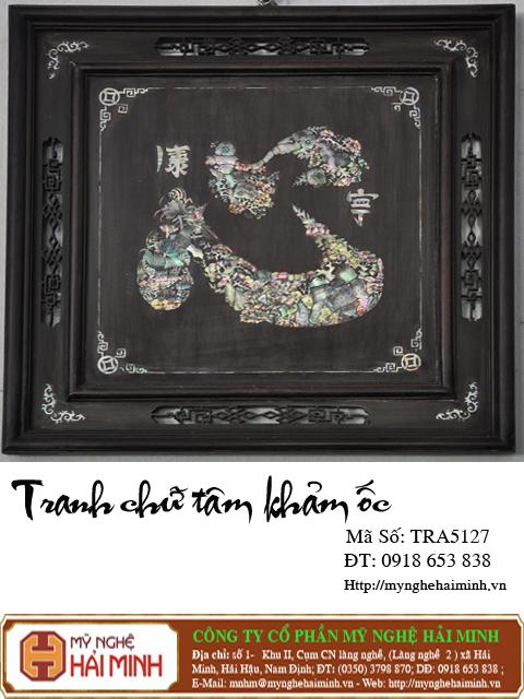 tranhchutamkhamoc TRA5127a