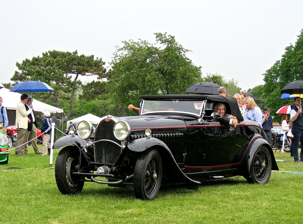 Bugattis In The Rain 5