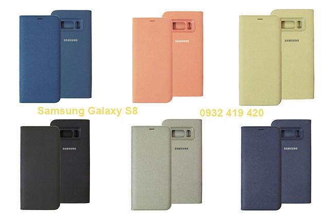 Bao da Samsung Galaxy S8, S8 Plus Led View chính hãng