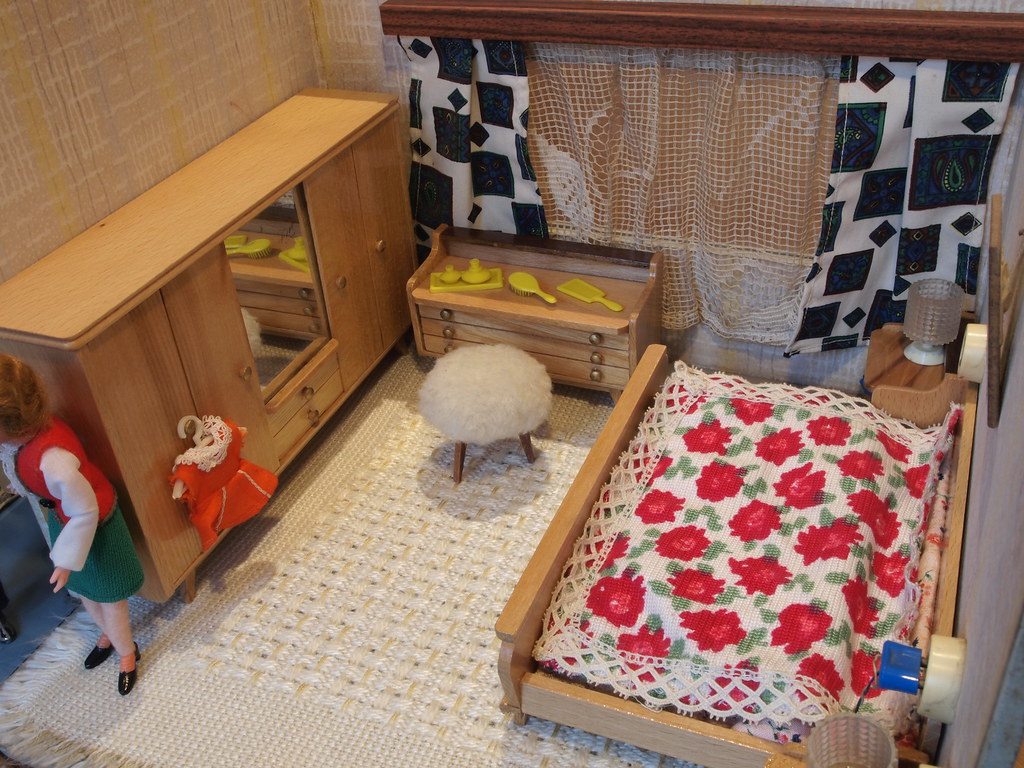 1960er DDR Puppenhaus - Schlafzimmer Hermann Rülke | Flickr