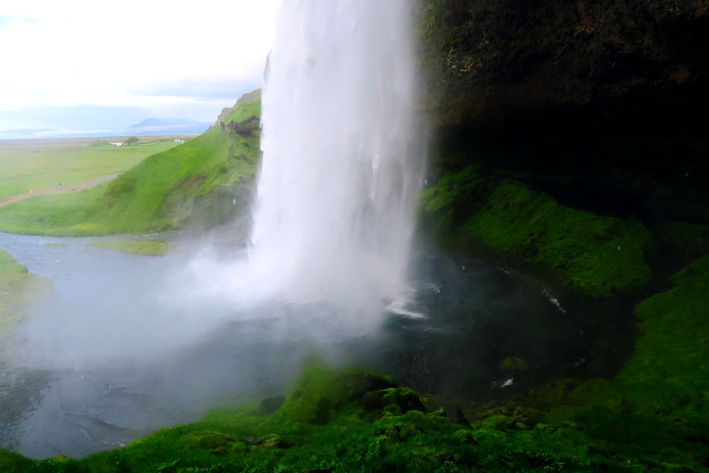 Waterfalls at Seljalandsfoss, Iceland
