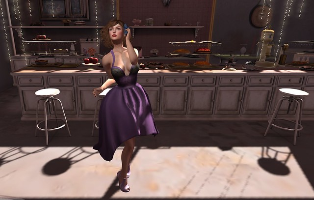 My purple dress, my broken heart