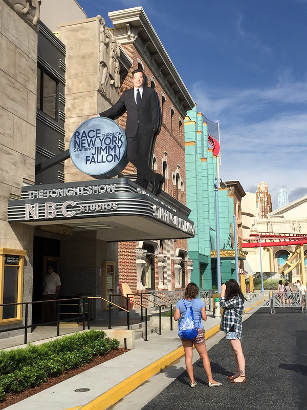 Jimmy Fallon ride at Universal