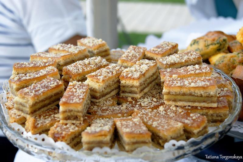 Многослойные пирожные