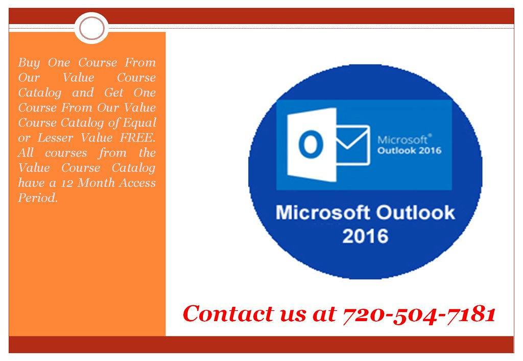 Microsoft Outlook 2016 Online Training Online Certific Flickr