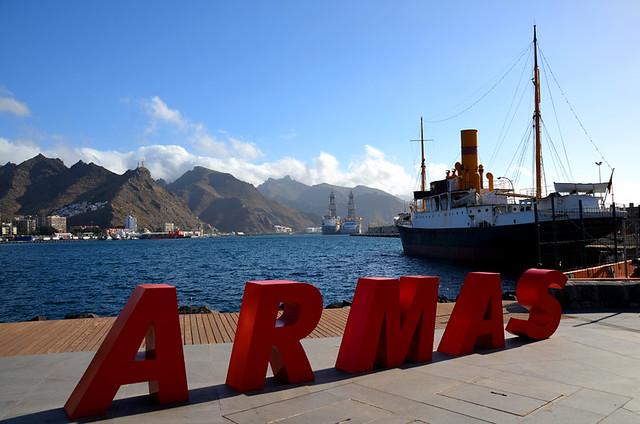 Naviera Armas ferry port, Santa Cruz, Tenerife