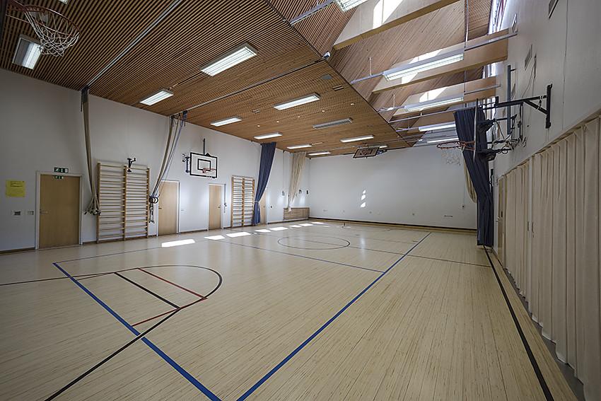Kuva toimipisteestä: Toppelundin koulu / Liikuntasali