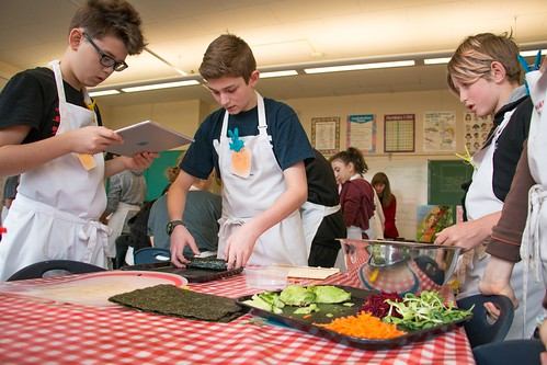 Project Chef at Carnarvon Elementary 2017